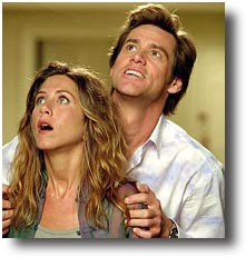 the movie bruce almighty essay Hacked off with life and frustrated at work, carrey's failed reporter, bruce, rages at the man upstairs  find out more about bruce almighty at: movie review query engine.