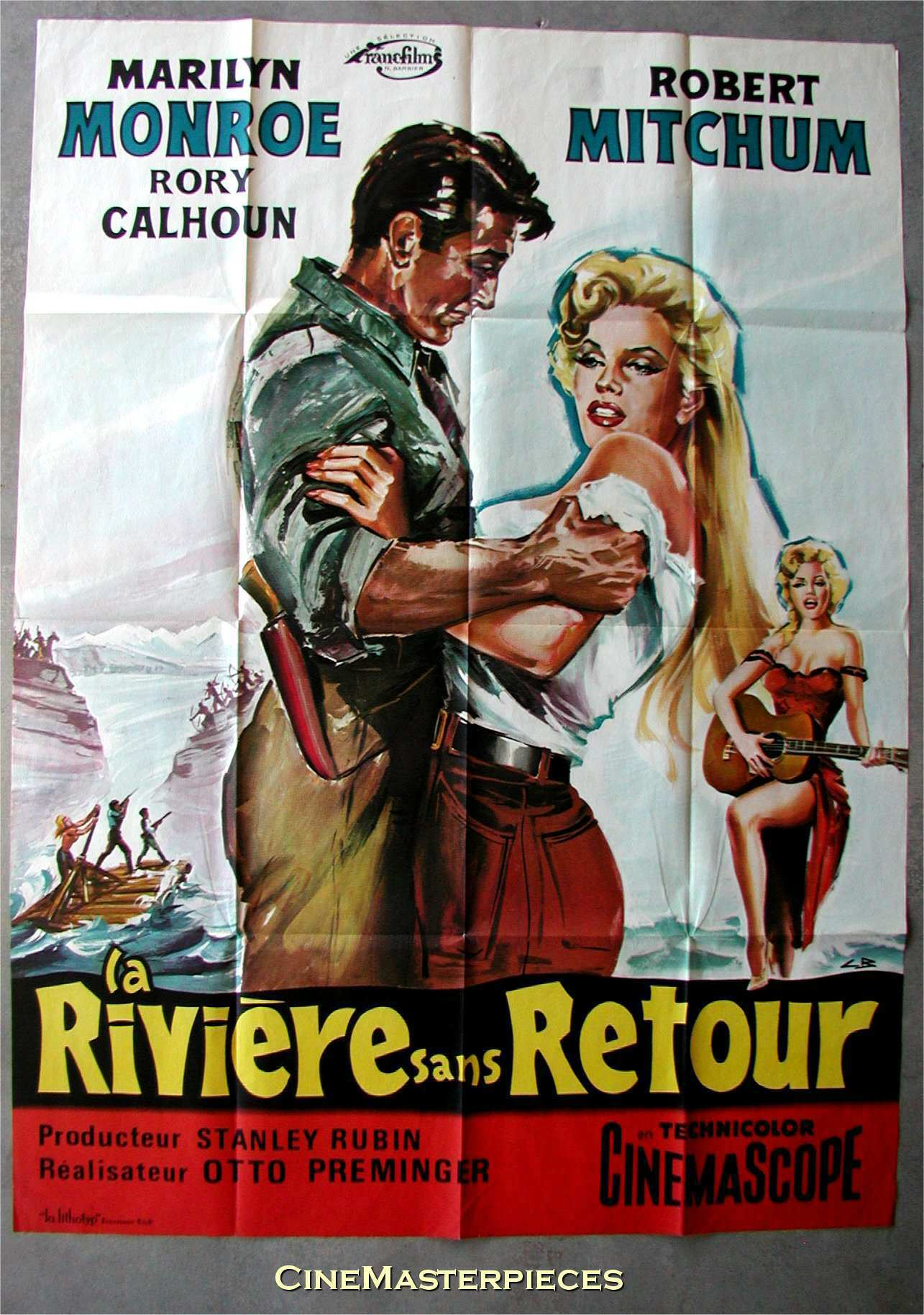 rivernoreturnfrench1960.jpg